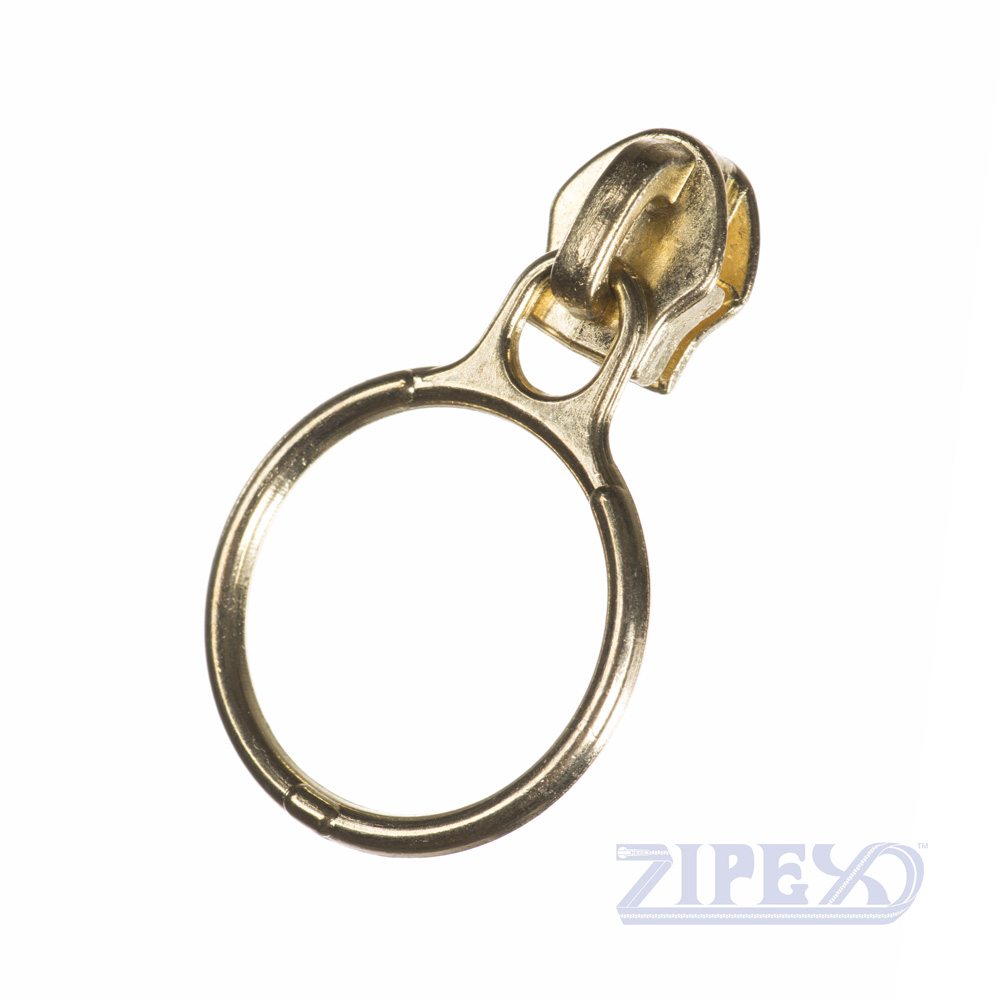 No53 Ring Pull Zip Slider Puller